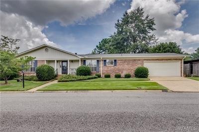 Tuscaloosa Single Family Home For Sale: 1510 Quail Run Drive
