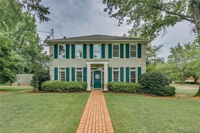 Tuscaloosa Single Family Home For Sale: 1030 Valley Forge Road