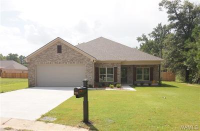 Tuscaloosa Single Family Home For Sale: 1825 Willow Oak Circle