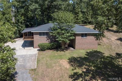 Tuscaloosa Single Family Home For Sale: 1186 Taylorwood Circle
