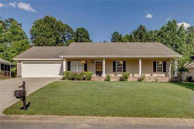 Tuscaloosa Single Family Home For Sale: 11644 River Point Lane
