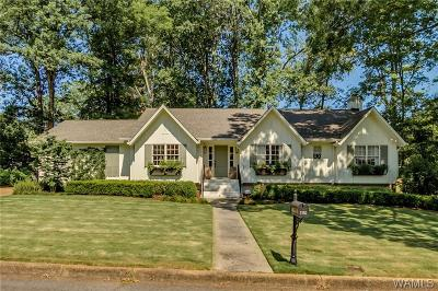Tuscaloosa Single Family Home For Sale: 1110 Indian Hills Drive