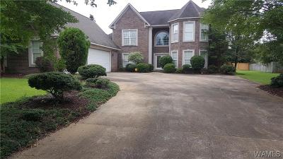 Tuscaloosa Single Family Home For Sale: 2720 Lake Crest Drive