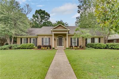 Tuscaloosa Single Family Home For Sale: 4922 Glen Eagle Drive