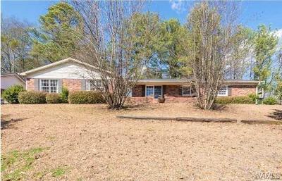 Tuscaloosa Single Family Home For Sale: 655 Woodridge Drive