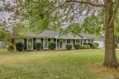 Tuscaloosa Single Family Home For Sale: 401 Shiloh Lane