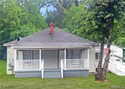 Tuscaloosa Single Family Home For Sale: 3311 1/2 Alabama Avenue