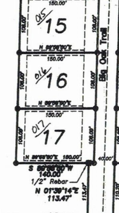Hot Springs AR Residential Lots & Land Back On Market: $29,900