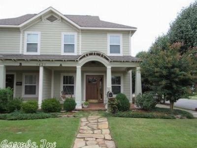 Little Rock Condo/Townhouse For Sale: 1421 Cumberland #A