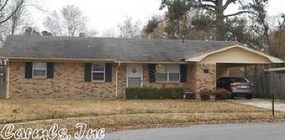 Pine Bluff AR Single Family Home For Sale: $41,500