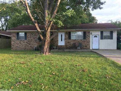 Beebe Single Family Home Under Contract: 606 W Indiana