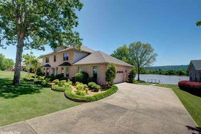 Maumelle Single Family Home Price Change: 3 Crystal Mountain Cove