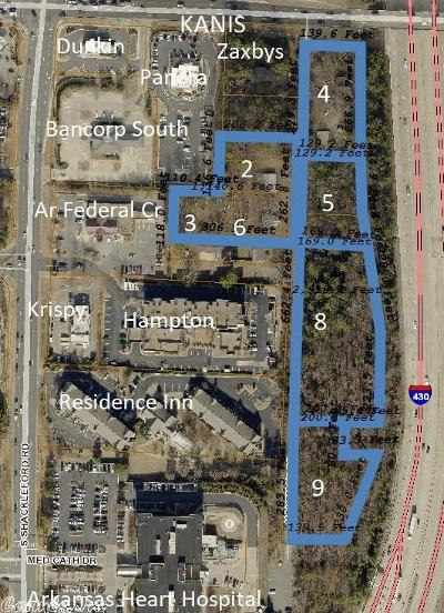 Little Rock Residential Lots & Land For Sale: 1222 & 1224 Kaufman