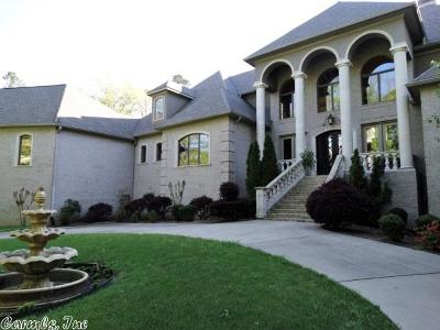 Little Rock Single Family Home For Sale: 2 Chenal Downs Boulevard