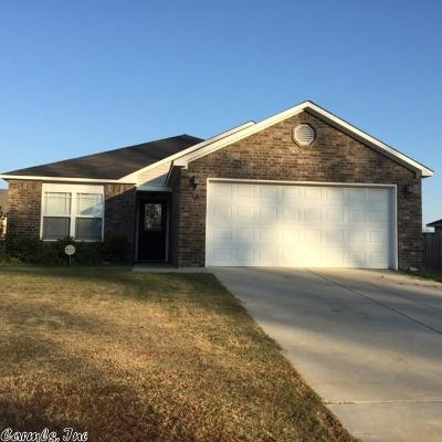 Beebe Single Family Home For Sale: 110 Meadow Drive