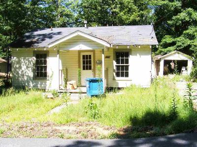 Hot Spring County Single Family Home Under Contract: 1120 Roosevelt