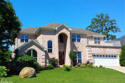 Maumelle Single Family Home For Sale: 6 Crystal Mountain Cove