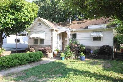 Little Rock Single Family Home For Sale: 4417 West 11