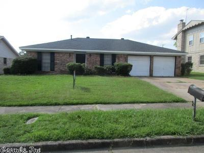 Pine Bluff Single Family Home For Sale: 3102 Allister