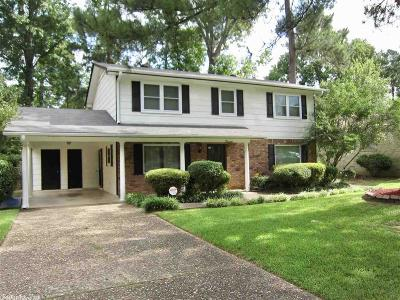 Little Rock Single Family Home For Sale: 3 Lakeside Drive