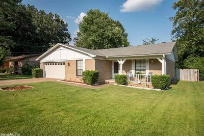 Little Rock Single Family Home New Listing: 8105 Sophia Drive