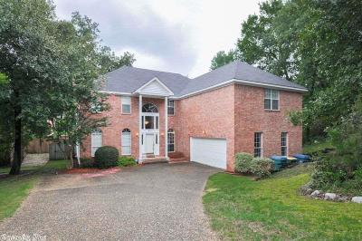 Little Rock Single Family Home For Sale: 50 Valley Estates Court
