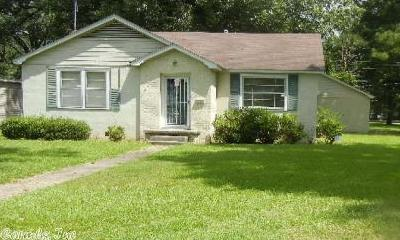 Pine Bluff Single Family Home Under Contract: 1501 W 33rd Avenue