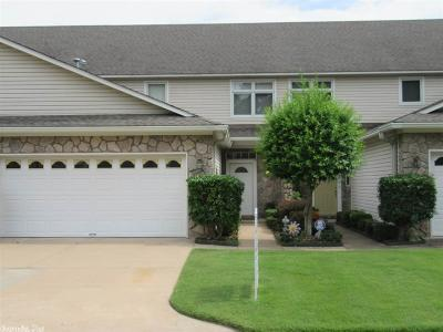 Maumelle Condo/Townhouse For Sale: 2 Fairway Woods Circle