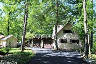 Garland County Single Family Home For Sale: 107 Lost Lake Point