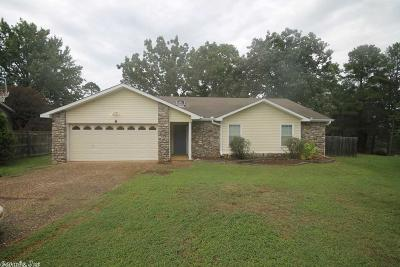 Maumelle Single Family Home For Sale: 8 Hightrail Cove