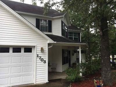 Bryant Single Family Home New Listing: 1703 Cherry Creek Circle