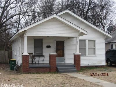 North Little Rock Single Family Home New Listing: 808 W 20th