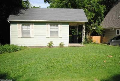 Little Rock Single Family Home New Listing: 1706 N Fillmore