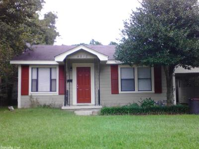 North Little Rock Single Family Home Price Change: 4812 Sycamore Street