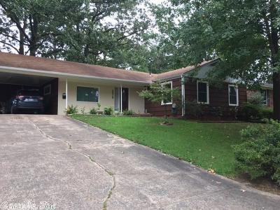 Little Rock Single Family Home Back On Market: 2910 Ware Street