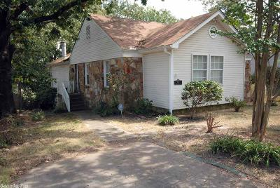 Little Rock Single Family Home For Sale: 611 N Buchanan Street