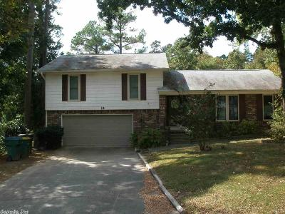 Little Rock Single Family Home New Listing: 18 White Willow Court