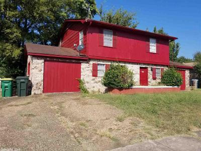 Little Rock Condo/Townhouse New Listing: 1108 and 1110 S Hughes Street