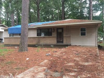 Little Rock Single Family Home New Listing: 7605 Brenda Cr.