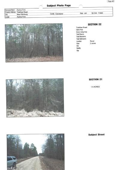 Cleveland County Residential Lots & Land For Sale: Tolefree Road