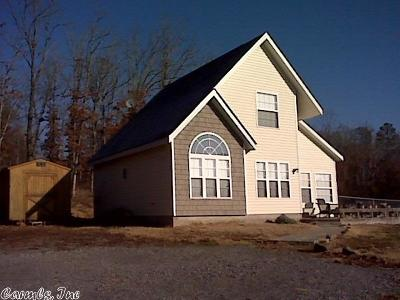 Van Buren County Single Family Home For Sale: 1535 Faye's Forest Rd.