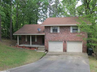 Little Rock Single Family Home Price Change: 8700 Boulder Lane