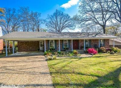 North Little Rock Single Family Home New Listing: 3601 Bunker Hill Drive