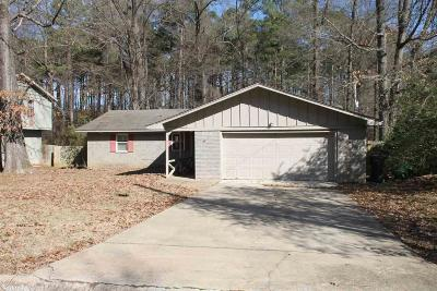 Little Rock Single Family Home New Listing: 10521 Diamond Drive
