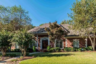 Little Rock Single Family Home For Sale: 10 Fontenay Circle