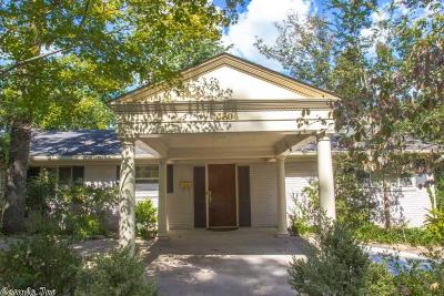 Little Rock Single Family Home For Sale: 5804 Scenic Drive