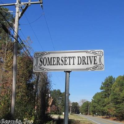 Arkadelphia Residential Lots & Land For Sale: Somersett