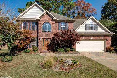 Little Rock Single Family Home For Sale: 12604 Meadows Edge Lane