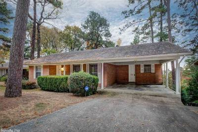 Little Rock Single Family Home New Listing: 7111 Shamrock Drive