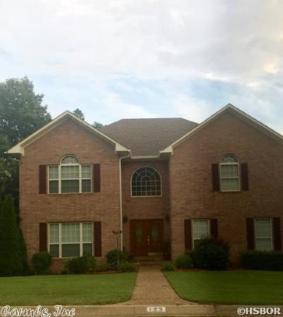 Garland County Single Family Home New Listing: 123 St. Charles Circle